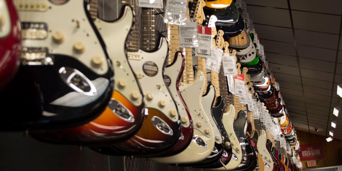52 guitars