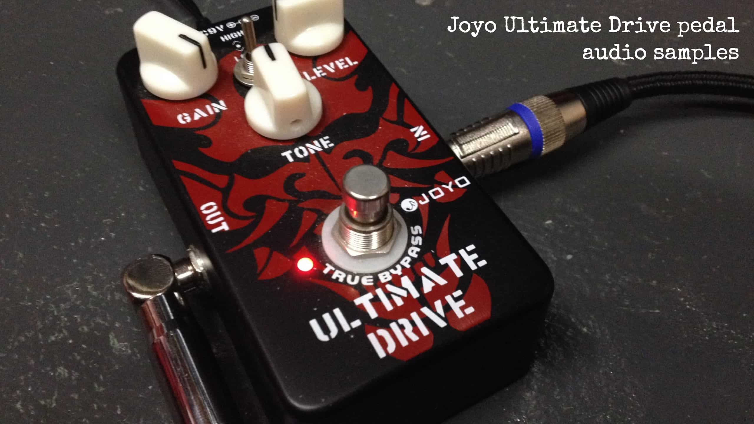 Joyo Ultimate Drive pedal