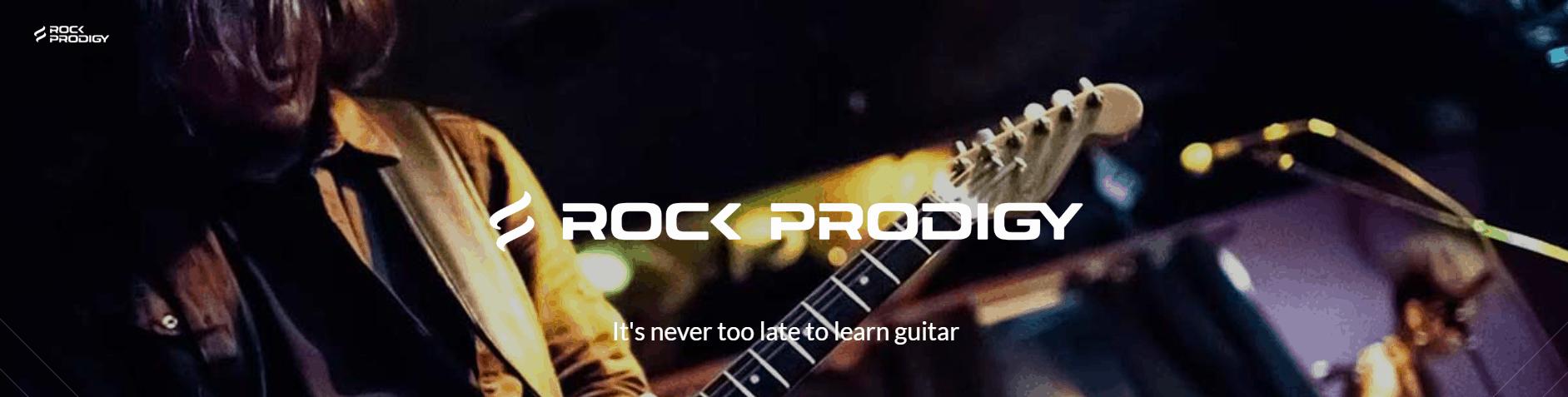 Rock Prodigy website