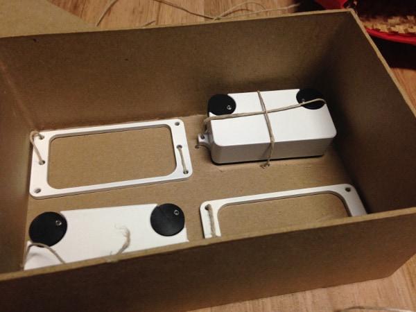 Dialtone Pickups Inside Packaging
