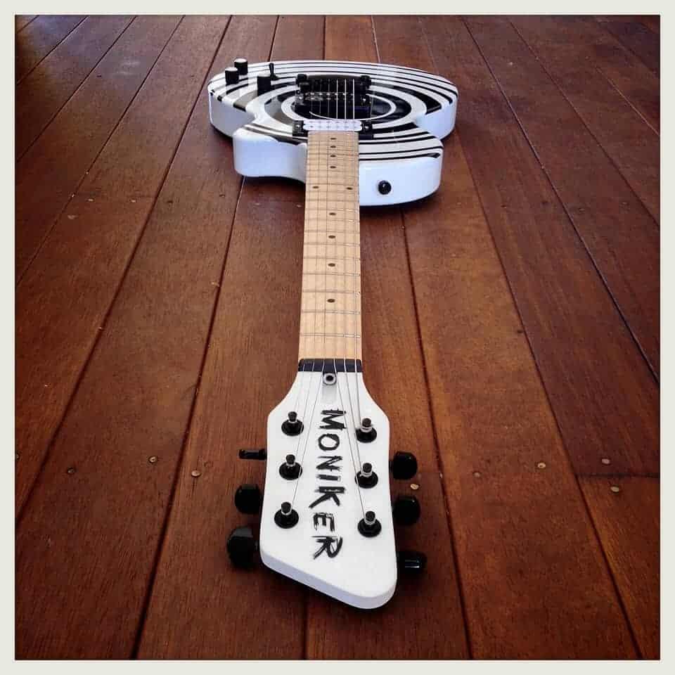 My Moniker Guitars custom Reedsdale
