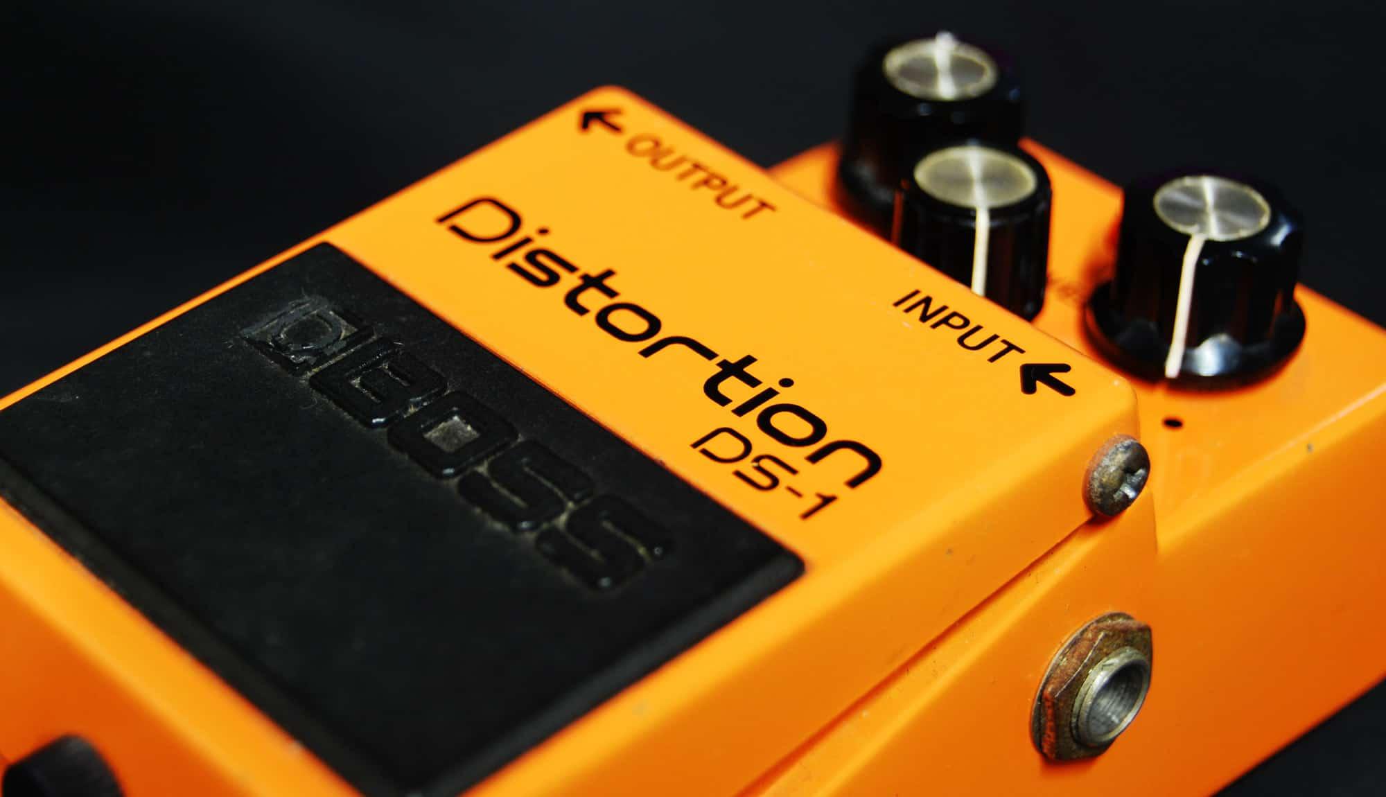 Boss DS1 guitar pedal