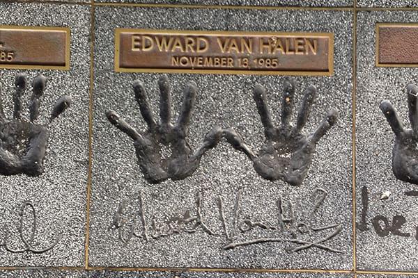 EVH hands