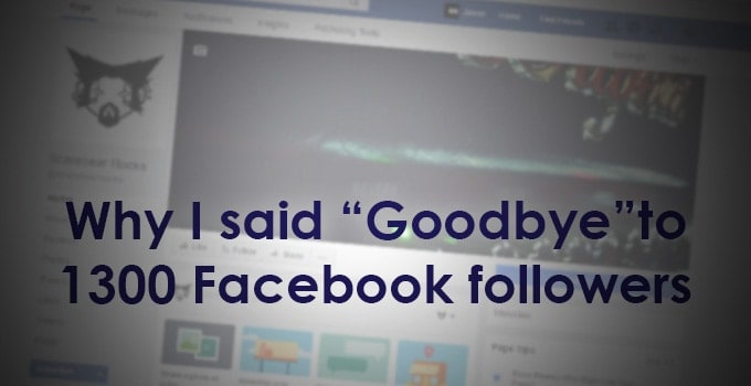 Goodbye Facebook