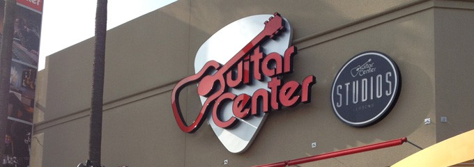 Guitar Centre Block at Orange