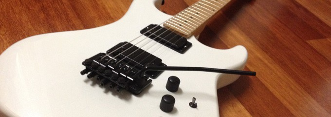 Kramer Pacer Dialtone Pickups Installed