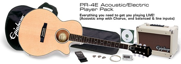 Acoustic/Electric Player Pack