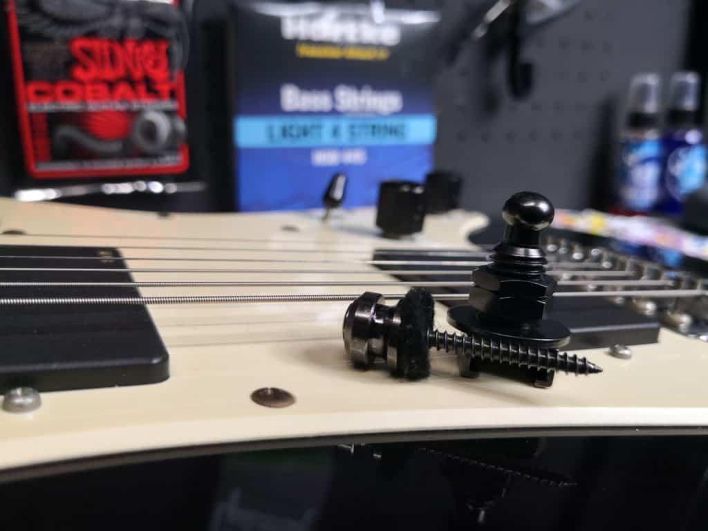 PLB Guitar Strap Locks components
