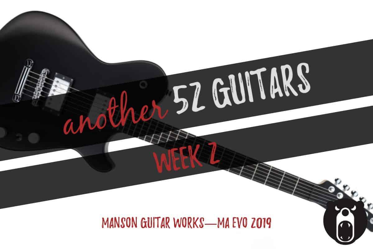 Manson Guitar Works MA EVO 2019