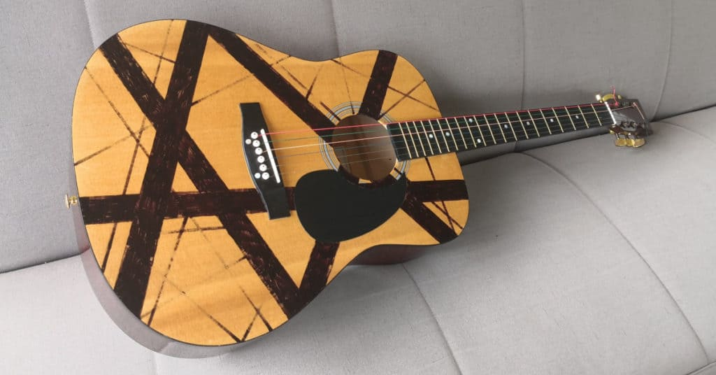 C Giant acoustic guitar from Aldi