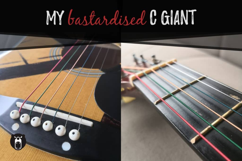 C Giant fret wear